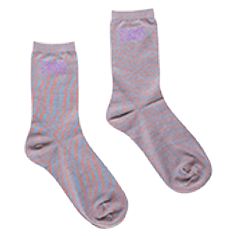 Space Coral - Bamboo Socks Solid
