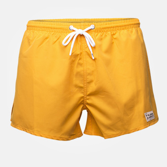 Breeze SwimShorts - Dark Cheddar Yellow