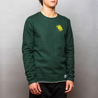 Smiley Small Logo Sweatshirt - Green