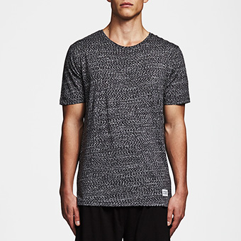 Bamboo SS Tee - Space Black