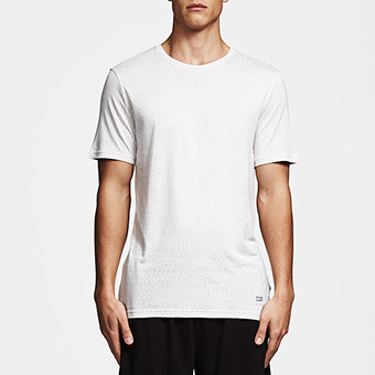 Bamboo SS Tee - Space White