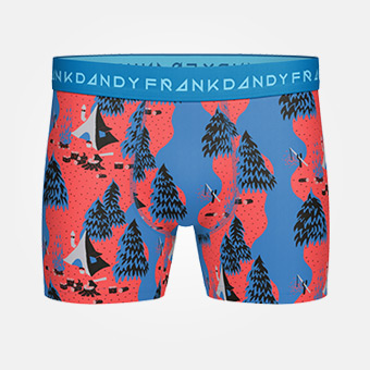 Sea Camp Boxer - Lyons Blue