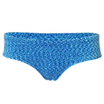 Women's Bamboo Hip - Space Hawaiian Ocean Blue