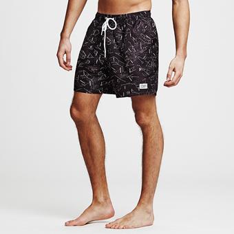 Bermuda Shorts Starsign - Svart