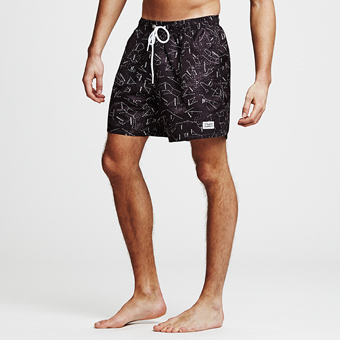 Bermuda Shorts Starsign - Black