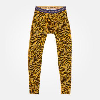 Orangea långkalsonger - Tiger print
