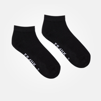 Bamboo Ankle Sock - Black
