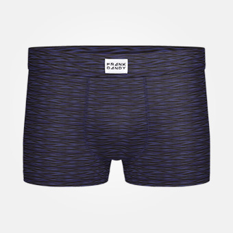 Bamboo Trunk - Space Grey Navy Blue