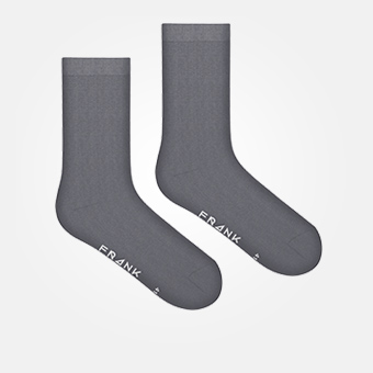 Charcoal Gray - Bamboo Socks