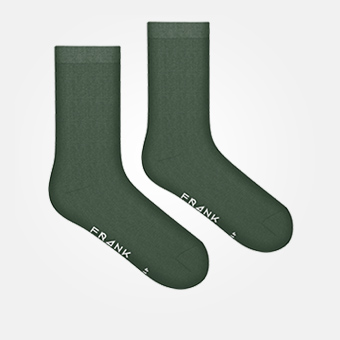 Green - Bamboo Sock