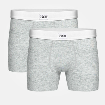 2-Pack Legend Boxer - Grey Melange