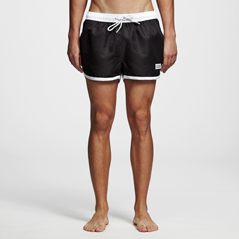 Saint Paul Swimshorts - Black