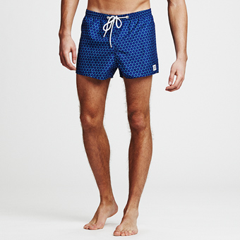 Sail Ninja Dart Swimshorts - Dark Blue