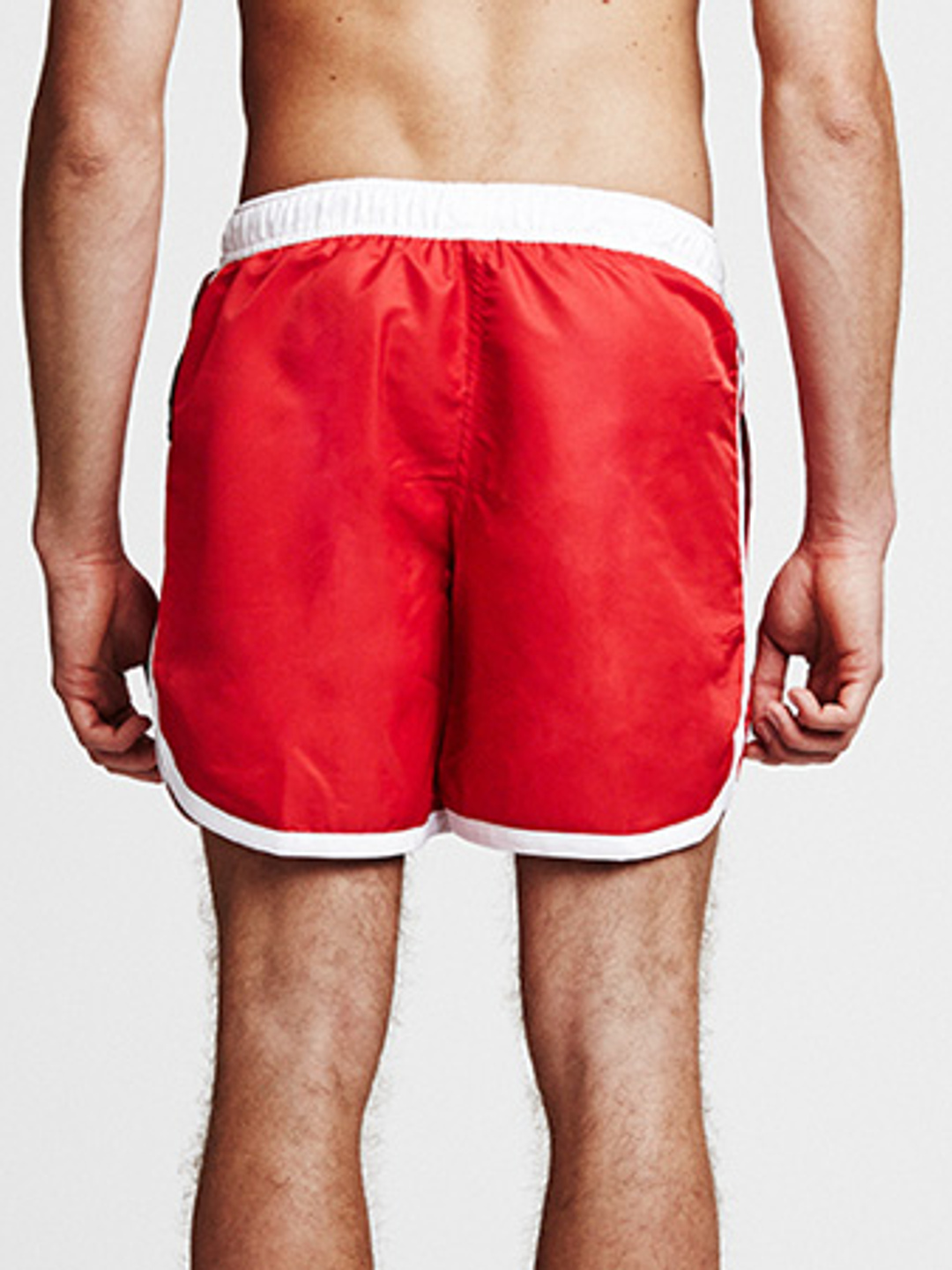 St Paul Bermuda Swimshorts - Red