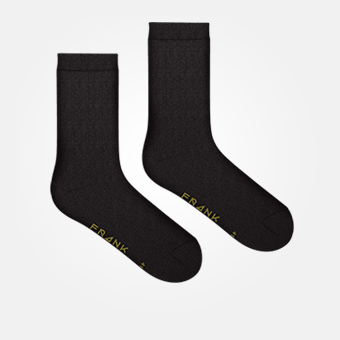 Black/Military Green - Bamboo Logo Socks