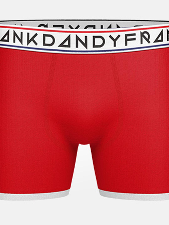 2-Pack St Paul Bamboo Boxer - Dark Navy/Red