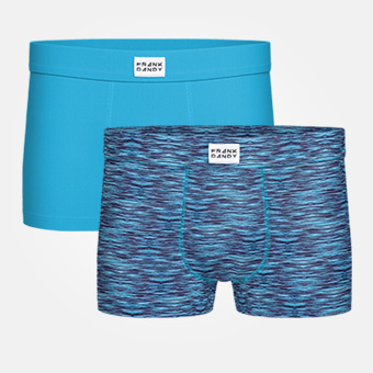 2-Pack Bamboo Trunk - Blue Sky/Space Blue Black