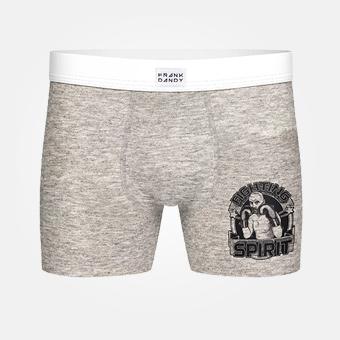 Fighting Spirit Boxer - Grå